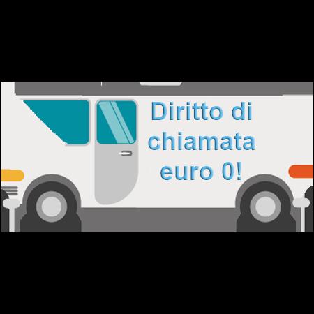 diritto di chiamata a euro 0